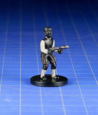 Star Wars miniatures minis Bounty Hunters Djas Puhr #30 NM with Card WOTC