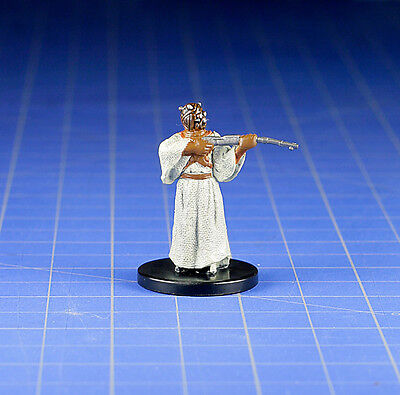 Star Wars miniatures minis Bounty Hunters  Tusken Raider Sniper #48 & Card WOTC