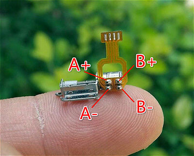 10x Micro Screw Stepper Motors Miniature 2-phase 4-wire stepping motor driver