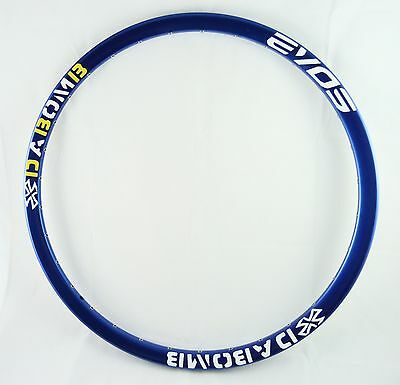 Da Bomb EVO9  MTB DH Enduro Bike Rim 32H - 26 Inch Mountain Bike Rim - Blue