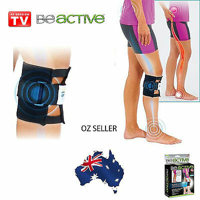 BeActive Knee Brace leg Back Pain, As Seen On TV, Be Active Pressure Point OZZIE