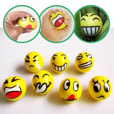 Emoji Funny Smiley Face Anti Stress Reliever Ball ADHD Autism Mood Creative Toy