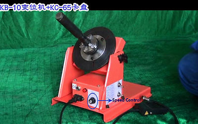 2~20RPM Light Duty Soldering Station Welding Positioner Turntable with Chuck