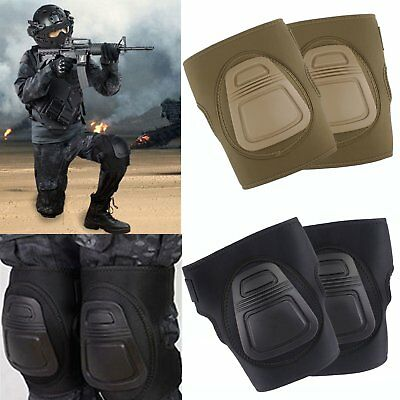 Airsoft Tactical Military Outdoor Game Combat Protective Set Gear Knee Pad Guard