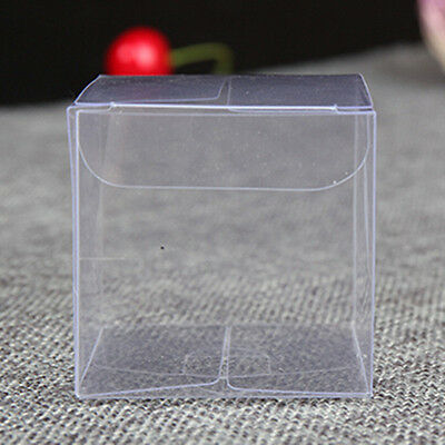 Plastic Clear PVC Wedding Packaging Box Candy Party Favor Gifts Chocolate Boxes