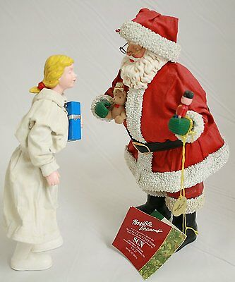 Possible Dreams® Clothtique™ North Pole Prescription #73164 - Santa Figurine