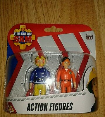 Fireman Sam Action Figures Twin Pack