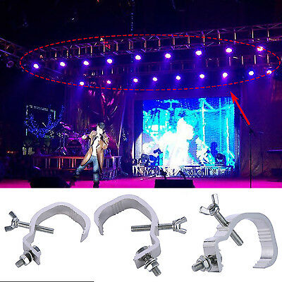 4/10 PCS Stage Lighting O Clamp Hook Mount Projector Aluminum Alloy Hook 40-60mm