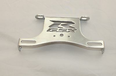Support De Plaque Suzuki Gsxr 600 750 2008 2009 2010 Argent Chrome