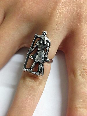 Fairy PP-G01 English Pewter Ring Adjustable Handmade in Sheffield