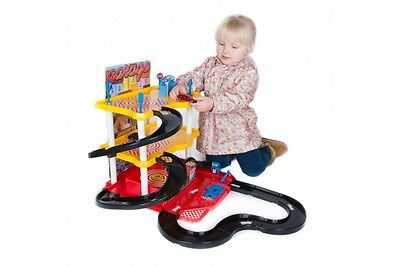 3 Level Car Garage Play Set with Cars