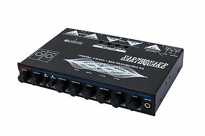 Earthquake Sound EQ-4000BT 4-Band Equalizer with Bluetooth® Capability