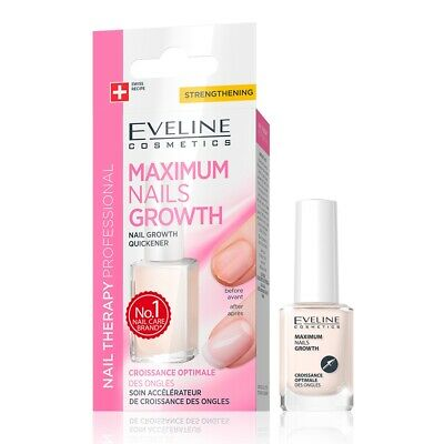 EVELINE NAIL THERAPY Maximum Nails Growth Nail Treatment Growth Quickener