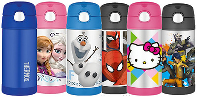 THERMOS Kids Stainless Steel Funtainer 10oz 12oz Various Characters 40+ Styles