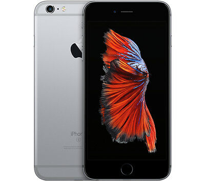 Apple Iphone 6S 16Gb Space Grey Gradient A/b Smartphone Mobile Reconditioned