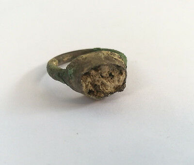 Roman Legion Signet Bronze Ring 200Ad!!