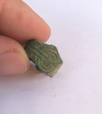 Roman Legion Ii Augusta Archer Bronze Ring 40Bc!!