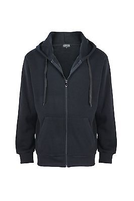 Men's Full Zip Up Hoodie Classic Zipper Hoodie Sweatshirt S M L XL 2XL 3XL