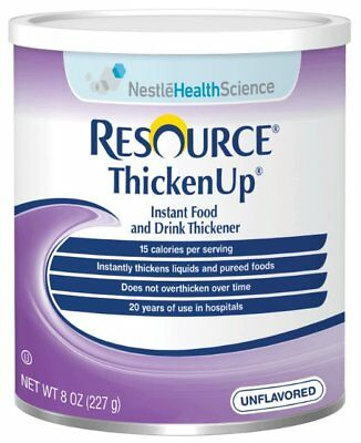 Resource Thickenup Instant Unflavored Food Thickener 8 oz. Can [1 Each (Single)]