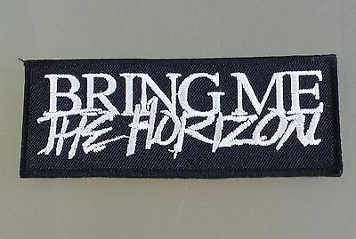 Bring Me The Horizon Embroidered Sew On / Iron On Rock Patch