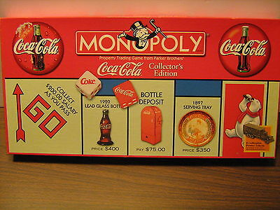 Coca Cola Monopoly Game, Open-but never played