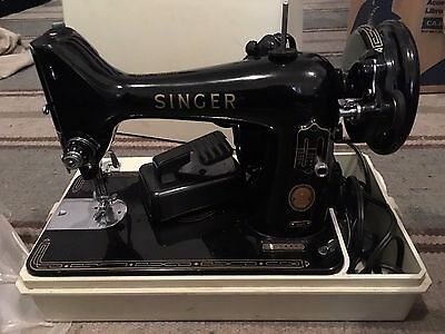 Antique Vintage Singer Sewing Machine 99K CAT. NO. RFJ5-8 Simanco