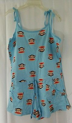 Paul Frank Sleepwear Pajama Jumper  Julius the Monkey Sz M