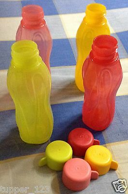 Tupperware Aqua Safe Mini ( 310 ml ) 10oz Water Bottle ( Set of 4 Bottles )
