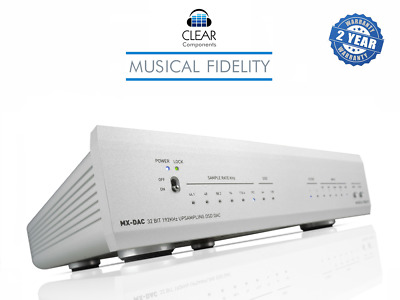 Musical Fidelity Mx-Dac Dsd Digital Analog Conv. Usb Da Wandler Hifi Highend-Top