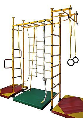Kids sports device, Wall bars, Climbing wall, Gym wall various Colours