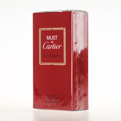 Cartier Must de Cartier ★ EDT Eau de Toilette 50ml