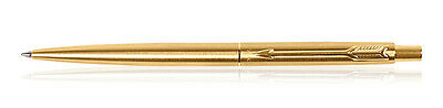 Parker Classic Gold Trim GT Retractable Ballpoint Pen Blue Ink Free Shipping New