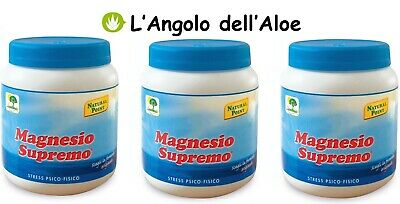 MAGNESIO SUPREMO NATURAL POINT - 3 confezioni da 300g
