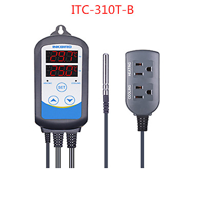 ITC-310T Digital 110V Temperature Controller Time Timer control temp heater fan