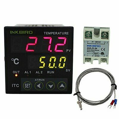 Inkbird ITC-100VH PID Digital Temperature Controller Thermostat Temp Measurement
