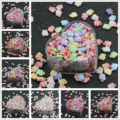 Mixed Colour Beads Kids Crafts Toy Cute Kids Jewelry Children DIY Accessories