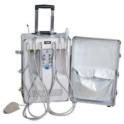 Dental Mobile Delivery portable box Unit air Compressor suction system treatment