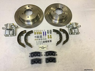 Rear Brakes Large Repair KIT Dodge Caliber PM 2007-2012 302MM DISCS BRK/PM/013A