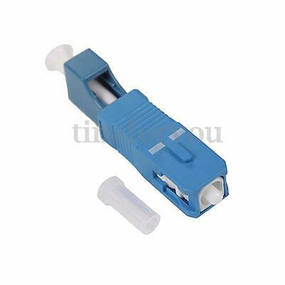 SC Male To LC Female Fiber Optical Hybrid Adapter For Optical Fiber Cables New