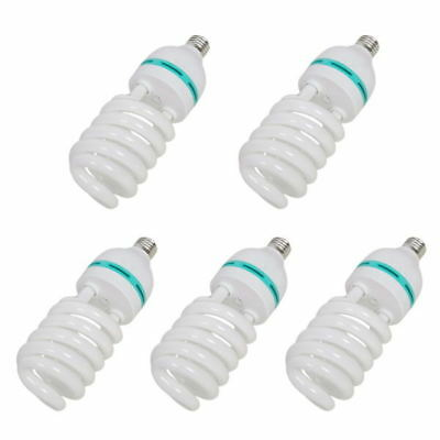 5PCS Studio 35W Output 5500K Photo Light Bulb (Equal to 115W Incandescent Lamp)