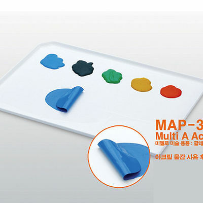 Mijello Multi Acrylic Color Peel-off Tray Palette -  MAP-3010 -  1 Pcs