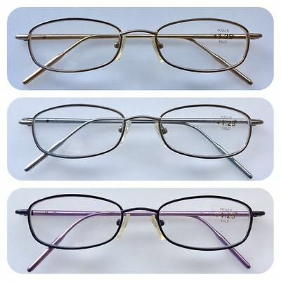 A55 High Quality Reading Glasses/Spring Hinges/Aluminum Arms/Classic Design