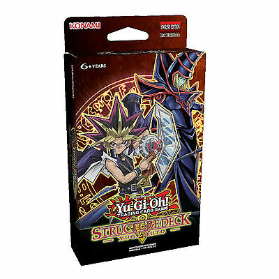 Yu-Gi-Oh Cards: Yugi Muto Sealed Structure Deck - SDMY - Dark Magician - 2016