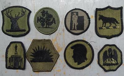 8 Subdued National Guard Patches #usp1764