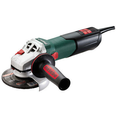 "5"" 8.5 Amp Angle Grinder w/ Lock On Switch Metabo 600388420 New"