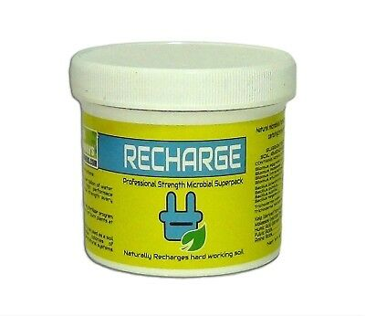 Real Growers Recharge 8oz ounce professional strength microbial superpack