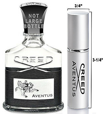 .20oz Travel Spray Cologne LARGE Sample Atomizer of AUTHENTIC Creed AVENTUS