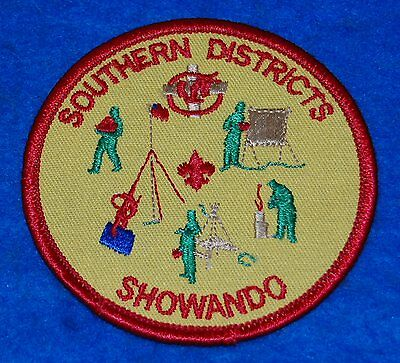 Southern Districts Showando (Scout) Embroidered Patch