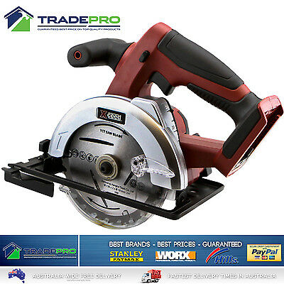 Circular Saw 18v Xceed® PRO Cordless Lithium Mitre Cut Off 136mm with Bonuses