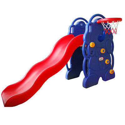 Plastic Toys Slide Children Kids Young Garden Patio Plastic Summer In house Home